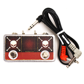 Skull Tap - Double Tap Controller with Polarity Switches and TRS